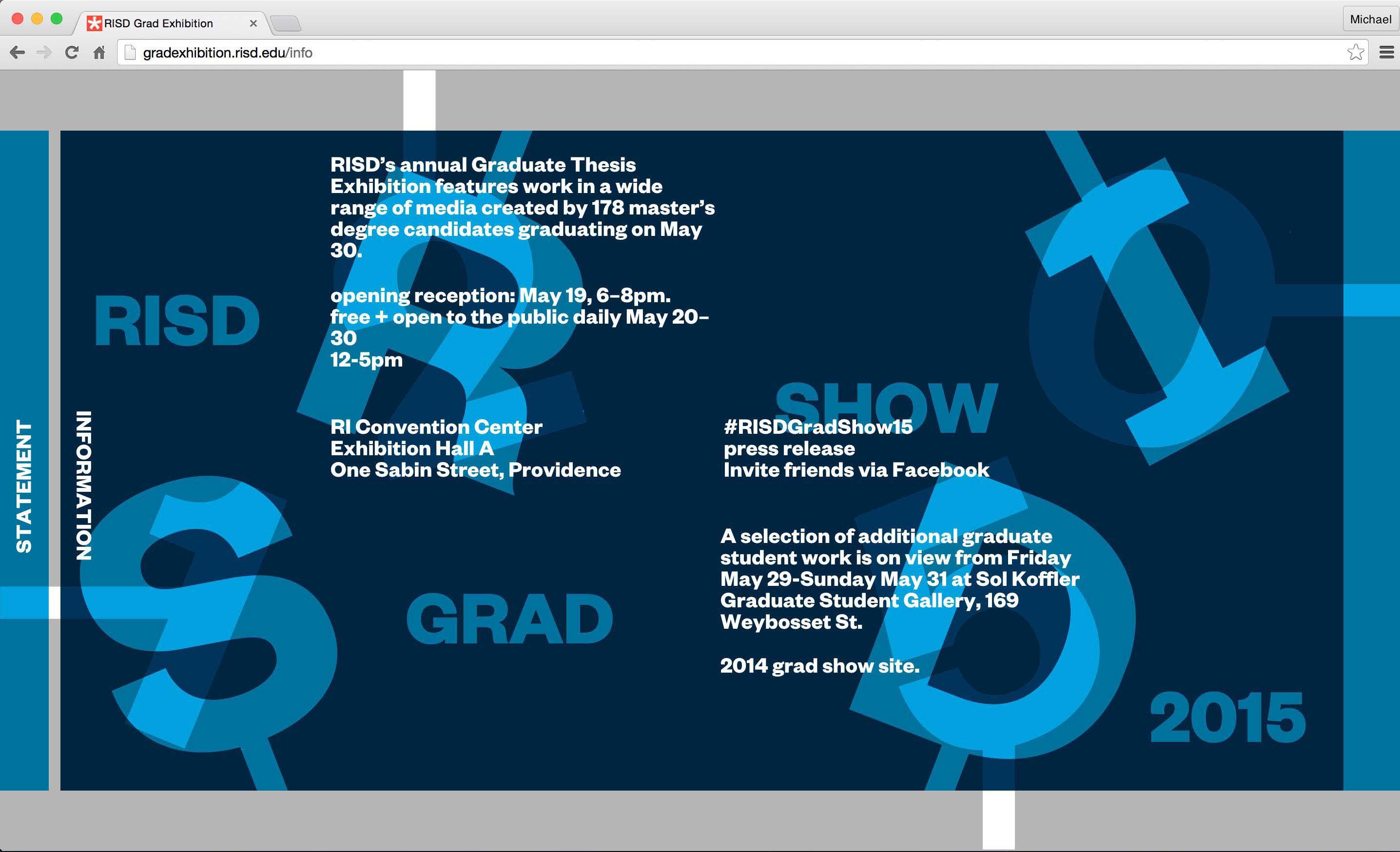risd graduate thesis show 2012